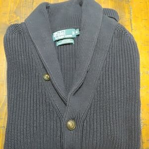 Mens Polo by Ralph Lauren Shawl Collar Cardigan